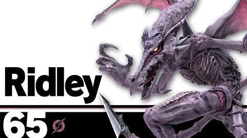 65- Ridley – Super Smash Bros. Ultimate