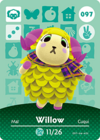 Animal Crossing Amiibo Card 097