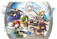 Fire Emblem Heroes - Summoning Banner - Blazing Shadows