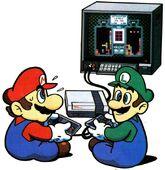 MarioBrosPlayingNintendo