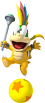 Lemmy Koopa Super Mario Wii