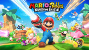 Mario + Rabbids - Kingdom Battle key art