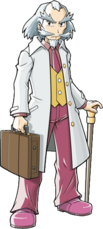 Professor Hastings (Pokémon Ranger Guardian Signs)
