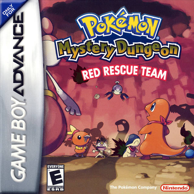 pokémon mystery dungeon red rescue team and blue rescue team