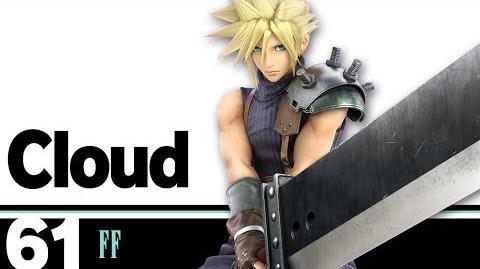 61- Cloud – Super Smash Bros. Ultimate