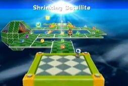 Shrinking Satellite