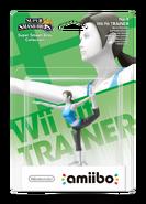 Amiibo - SSB - Wii Fit Trainer - Box