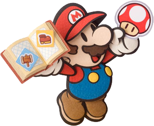 In Paper Mario Sticker Star Can Use Jump A Button Hammer B And Paperize Y