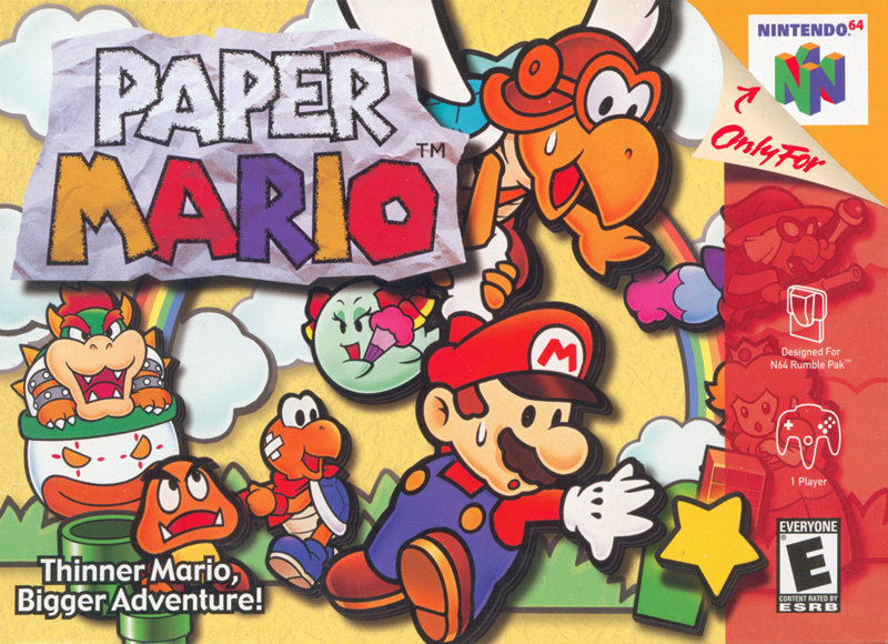 paper mario nintendo fandom powered by wikia