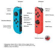 Nintendo Switch - Joy-Con Infographic
