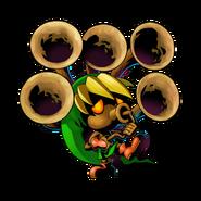 The Legend of Zelda Majora's Mask 3D - Character artwork 35