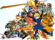 Gunbird Characters