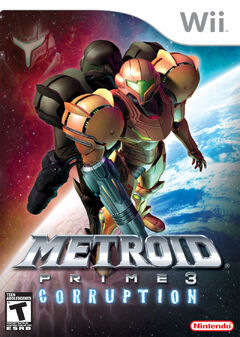 Metroid Prime 3 Portada (NA)