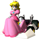 Peach Artwork - Mario Kart DS