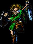 The Legend of Zelda Majora's Mask 3D - Character artwork 07