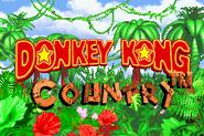 Title Screen - Donkey Kong Country (Game Boy Advance)