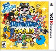 WarioWare Gold Boxart NA