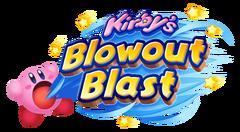 Kirby's Blowout Blast logo