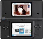 Nintendo dsi menu