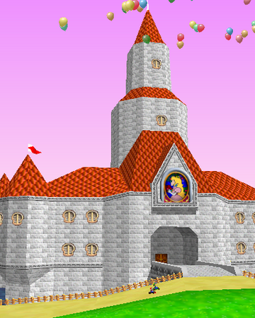 Princess Peach S Castle Nintendo Fandom