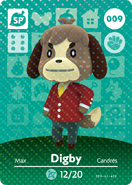 Amiibo - Card - Animal Crossing - Digby