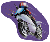 Mach Rider Sticker