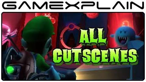 All Luigi's Mansion 2 Dark Moon Cutscenes