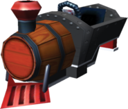 Barrel Train Artwork - Mario Kart 7