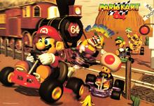 Kalimari Desert - Mario Kart 64
