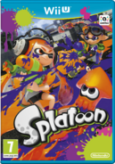 Splatoon - EU Boxart