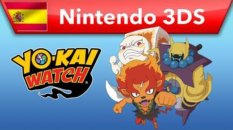 YO-KAI WATCH - Tráiler del combate (Nintendo 3DS)