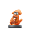 Amiibo - Splatoon - Inkling Squid Orange