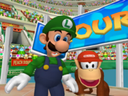 Diddy Kong & Luigi