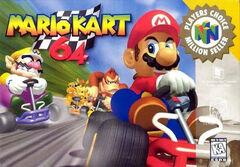Mario Kart 64 Portada