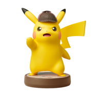 Amiibo - Detective Pikachu (alt 1) (no shadow)
