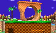 Green Hill Zone 3DS Omega
