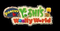 Poochy & Yoshi's Woolly World logo