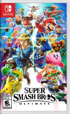 Super Smash Bros Ultimate Box Art RP