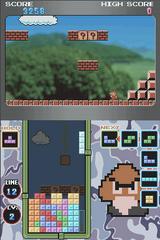 Tetris DS modo standard