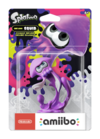 Amiibo - Splatoon - Inkling Squid - Neon Purple - Box