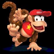 Diddy Kong SSB4 - Artwork
