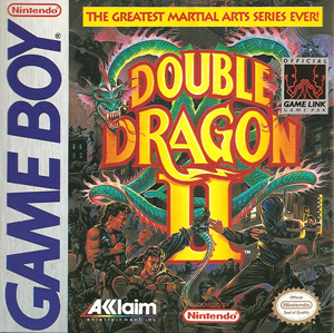 Double Dragon Ii Game Boy Nintendo Fandom
