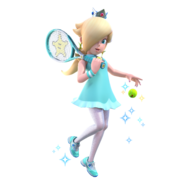 Mario Tennis Aces - Character Artwork - Rosalina 01