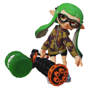 Splatoon - Splatling StandardF 01