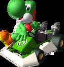 Yoshi Artwork - Mario Kart DS