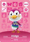 Animal Crossing Amiibo Card 065