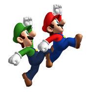 Mario luigi jump