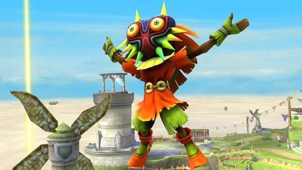 Skull Kid SSB Wii U