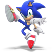 Super Smash Bros. Ultimate - Character Art - Sonic