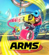 ARMS key art